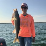 Leech Lake walleye