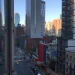 view from 10th floor looking at 8th Avenue