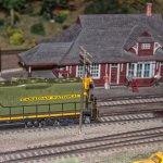 CN Locomotive at Aberfoyle Station