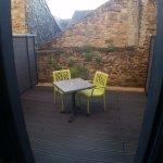 La terrasse pour un supplément de 40e/nuit