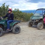 The single and the double ATVs.