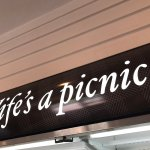 Picnic food at T&B...