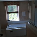 Bathroom in bigger bedroom of suite