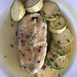 Grouper with Zucchini, very good