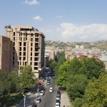 view on the city of Erevan
