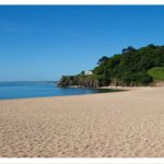 Blackpool Sands shingle beach and cafe is just 5 miles away