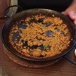 Burnt paella