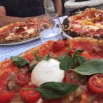 Three delicious pizzas!