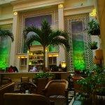 Palm Court Lounge Hotel Saratoga