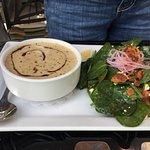da wifes soup and salad