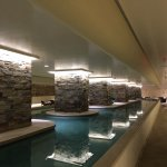 Totally awesome one-of-a kind 70+ yard indoor lap pool!!!