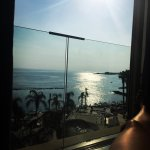 Stunning sea view from our room