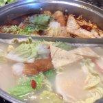 Hot pot with my family 4