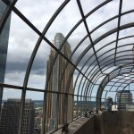 Outdoor observatory deck with 360 view of downtown Minneapolis