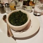 Would you pay $12 for this side of creamed spinich? We did but hopefully you will save your $$$