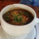 French Onion Soup. Highly recommend!