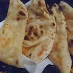 garlic naan for two