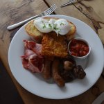 Blue Duck Cafe - Canterbury Region NZ - Full Breakfast