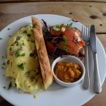 Blue Duck Cafe - Canterbury Region NZ - Chefs Omelette