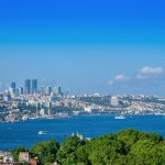 View of Bosphorus from Adamar Rooftop