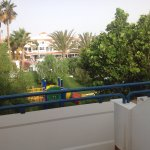 From the balcony towards the bar