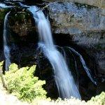 Una de las cascadas