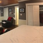 The biggest room is newly created and very comfortable and cozy!