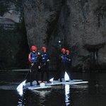 descente nocturne en stand up paddle au coeur des gorges du Tarn