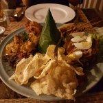 Nasi Campur platter
