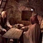 Reconstitution d'une maison médiévale d'Hautpoul