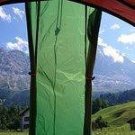 Camping Eigernordwand Foto