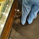 Pavimento di Romoli: lercio