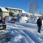Heavy snow winter
