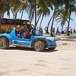 small group tours, no mass tourism with fun buggy