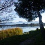 Le lac de Villeneuve de La Raho à 10 minutes d'Ortaffa - Balades à pied et à vélo