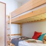 Coin Cabine avec lits superposés