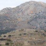 View of Mycenae from Treasury of Atreus