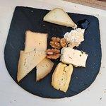 La sélection de fromage faite parmi un large choix