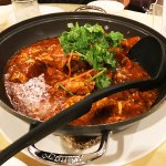 the famous and delicious chili crab