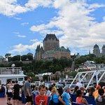 La vue sur Québec