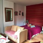 Large bedroom, artistically furnished and decorated