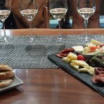 Wine tasting and platters at Monte Creek Ranch