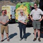 TasteFull Excursions team - Greg, Maatje & Gordon
