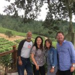Speedy Creek Winery with owners Kathy and Dave