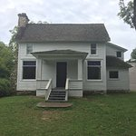 A view of the front of Laura and Almanzo's home.