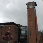 Royal Shakespeare - main entrance and Tower