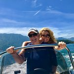 Enjoying our day on Bellagio boat!