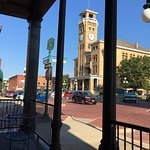 View from Brickhouse towards the old courthouse.