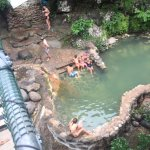 Thermal springs - in the pool