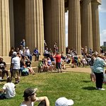 Waiting for the 2017 Total Eclipse of the Sun at the Parthenon